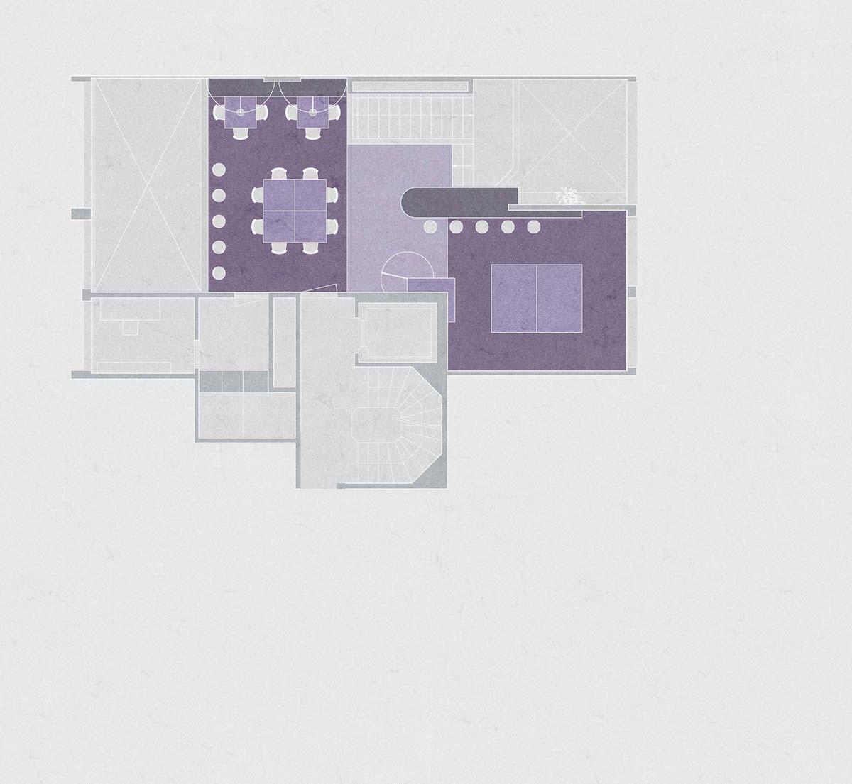 Die Galerieplätze im Obergeschoss dienen insbesondere den Tabletop- und den Strategiespielen.