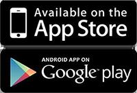 Erhältlich im AppStore und Google Play
