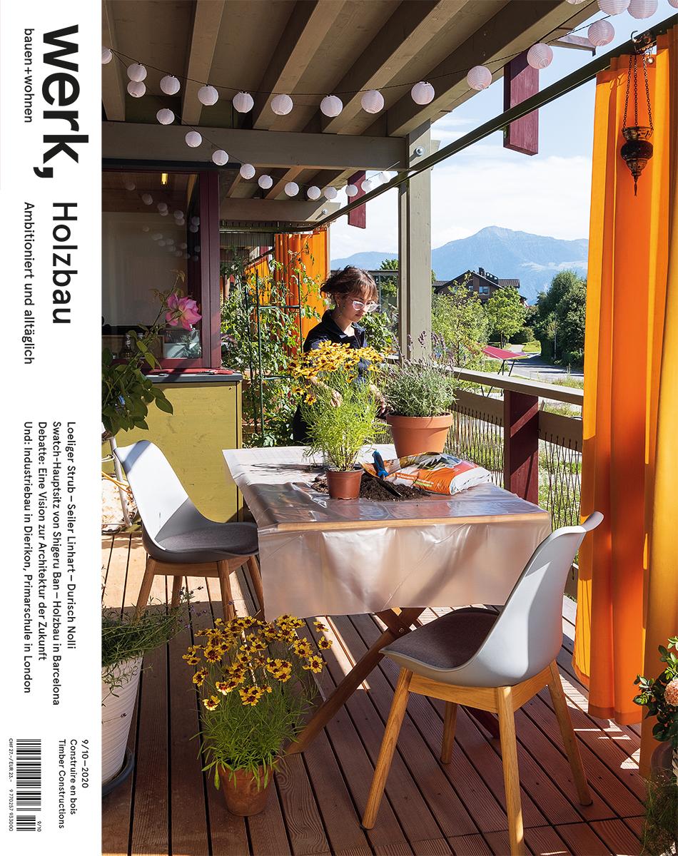 Sujet 23: Holzbau; Bild: Corina Flühmann
