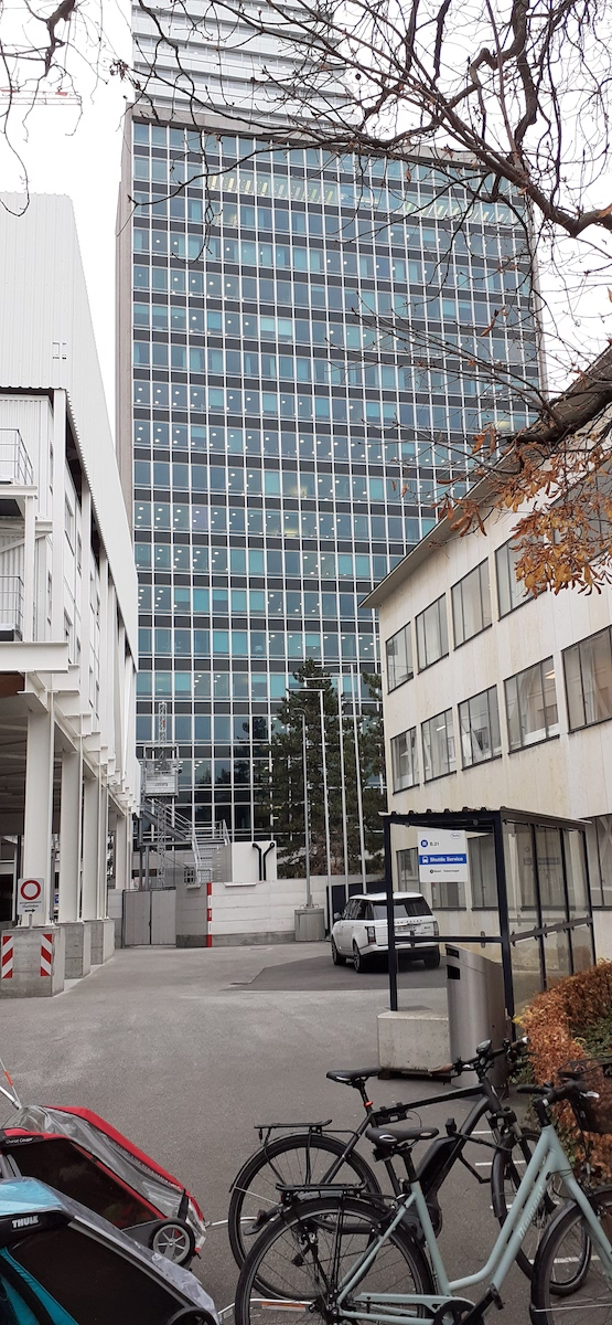 Roland Rohn, Verwaltungshochhaus F. Hoffmann-La Roche, 1957-60 Bild: Bernd Nicolai