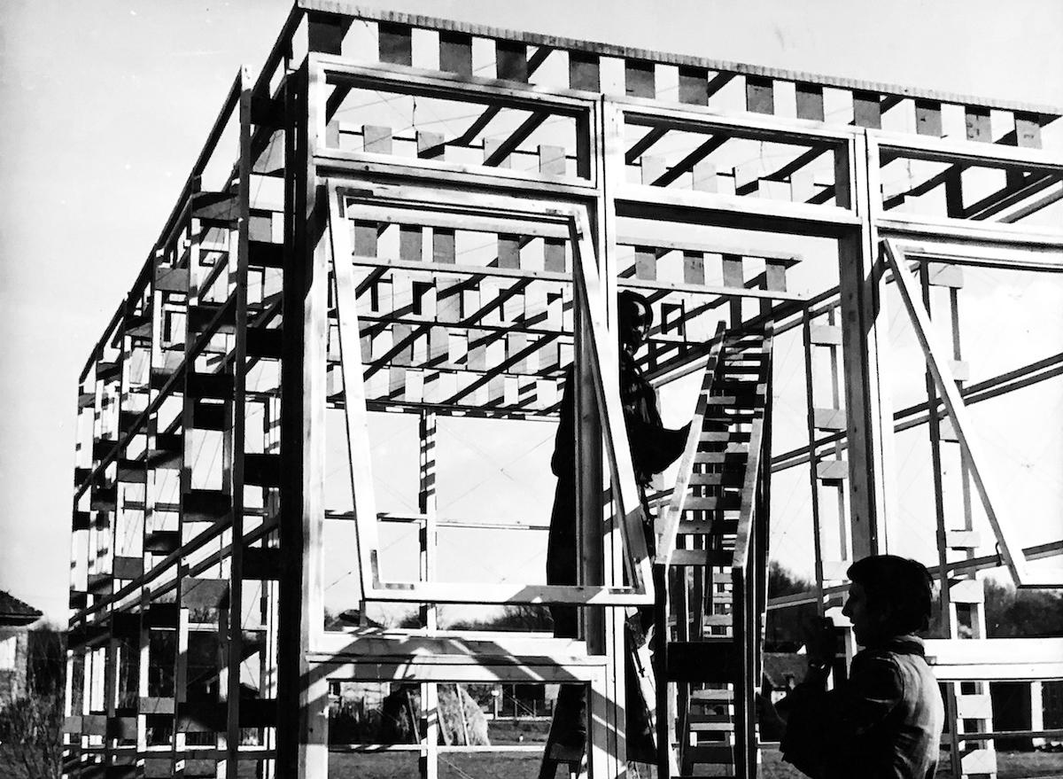 Prototyp-Leichtbausystem Bild: Bálint Nagy